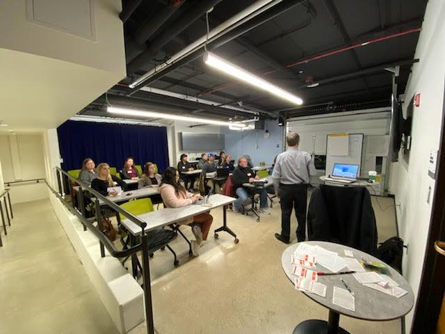 seo training on optimizing google my business profile